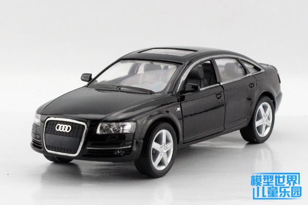 1 Pc 12 5cm Kinsmart Alloy Model Children S Toy Car Audi Audi A6