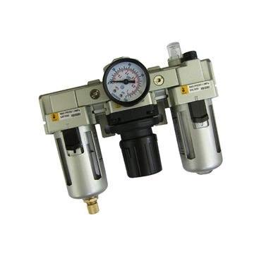 G3/8 or G1/2 XAC4000-03/04 FRL(Filter regulator lubricator) air Combination SMC constitution ac3000 series air filter combinations f r l combination ac3000 02 g1 4