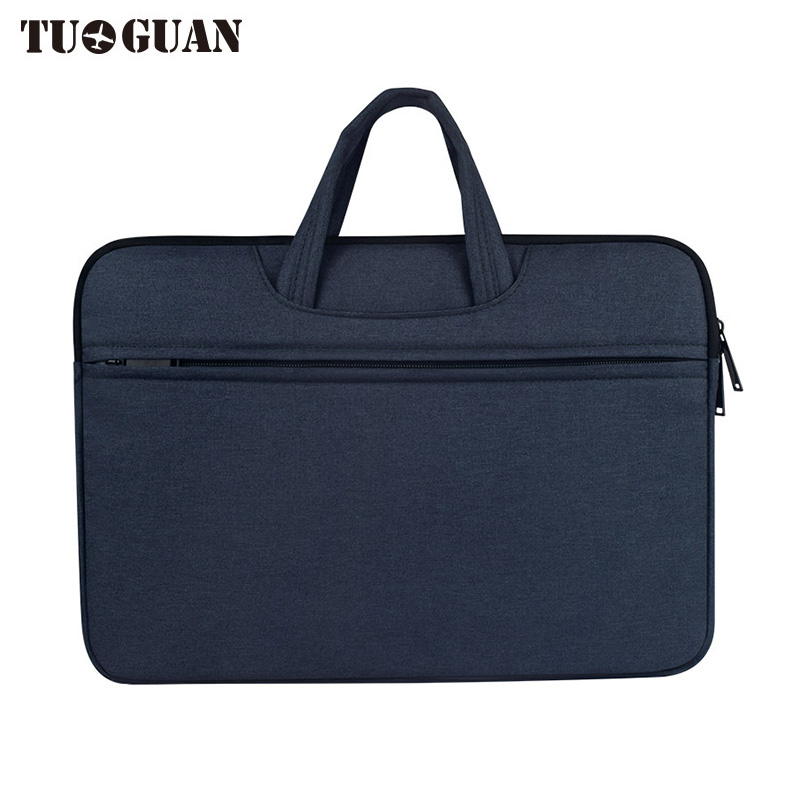 TUGUAN Men/Women Laptop Bag Waterproof Portable Handbag Computer Case Briefcases Notebook Bag Air Pro By 13.3 Inches for Male
