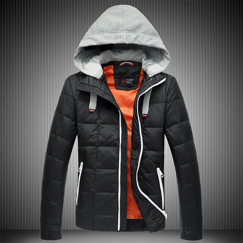 Подробнее о Men White Duck Winter Down Jackets Coat Hooded Warm Thick Jacket Coat Brand Fashion Slim Fit Plus Size Down Parkas F1793 winter jackets men s warm casual thick outwear slim fit brand clothing male coats down jacket fur hooded plus size 4xl 5xl x486