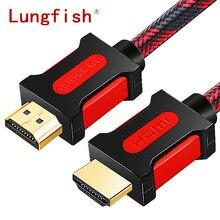 Lungfish Ad Alta Velocità HDMI Cavo HDMI a HDMI 2.0 4 K 1080 P 3D per HDTV splitter switcher 1 m 2 m 3 m 5 m 10 m 15 m 20 m