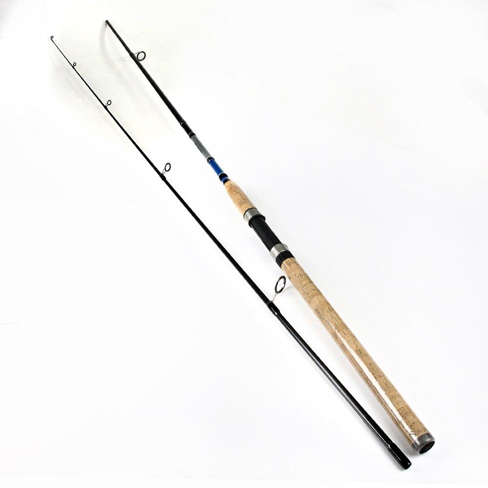 PESCE RE 99% di Carbonio 2.1 m 2.4 m 2.7 m 2 Sezione Richiamo Morbido Lure di Pesca Asta Asta di Richiamo Peso 3- 50g Spinning Canna Da Pesca Per La Pesca Con Esche Artificiali