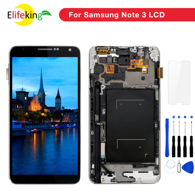 10 PCS/Lot Grade AAA Note 3 écran LCD affichage avec numériseur tactile assemblée pour Samsung Note3 N9000 N900 N900A N9005 LCD