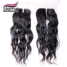 4X4 Size Lace closure Natural Wave Brazilian Natural wave closure Virgin Hair Top Closure Free Parting And U Parting Swiss Lace