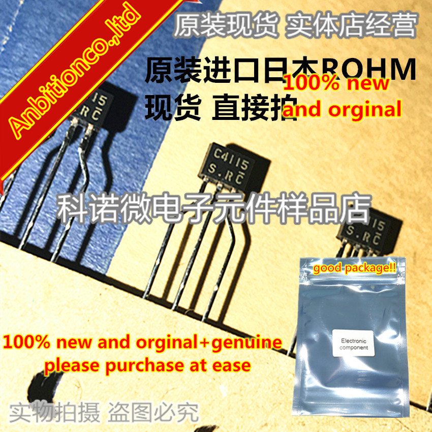 10pcs 100% New And Orginal 2SC4115 C4115 2SC4115S-R TO-92 Low Frequency Transistor In Stock