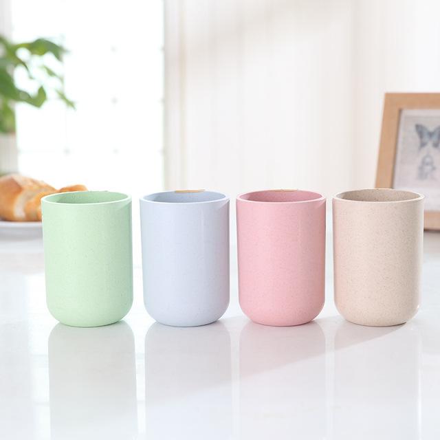 Minimalistic Cylindrical Eco-Friendly Bamboo Coffee Mug