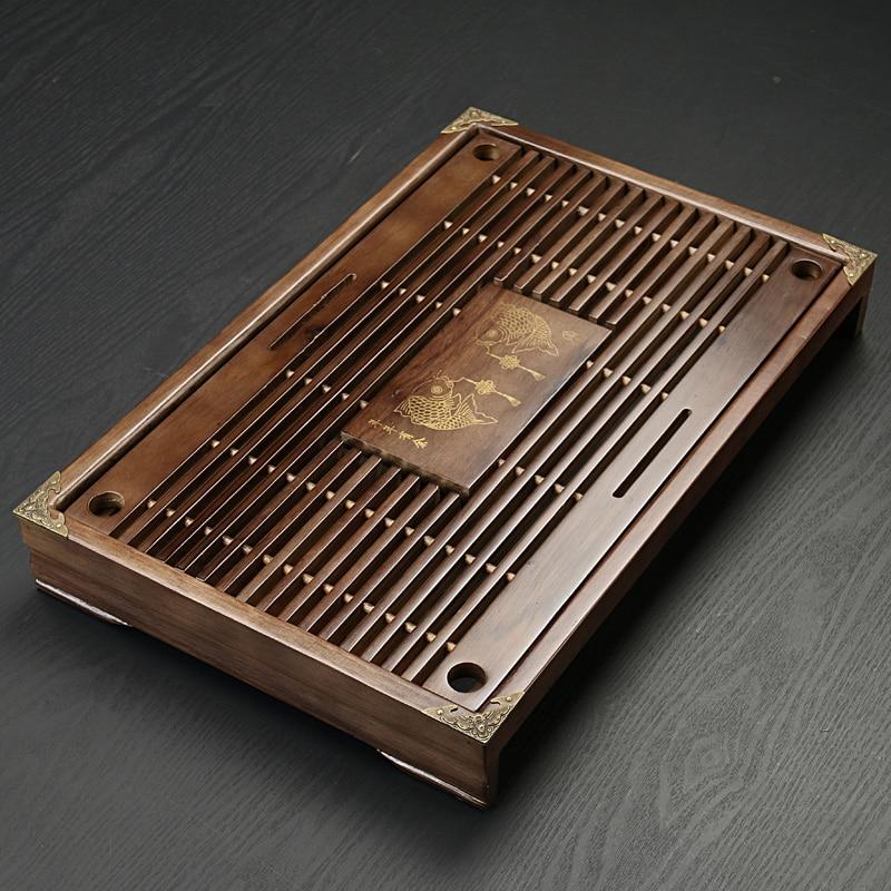 Китайский традиционный деревянный поднос деревянный Чай Таблица Чай море Чай комплект кунг-фу Чай лоток инструменты для чашки и Чай Горшок ...