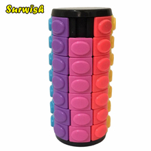 X Cube Colorful Seven layer Magic Tower Creative Puzzle Toy for Challenge