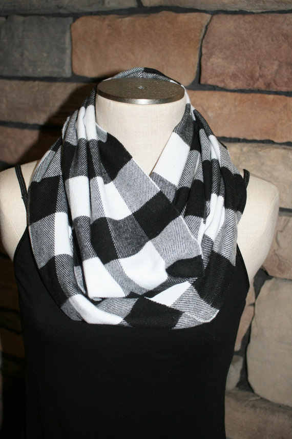 0f01e8282 Detail Feedback Questions about Buffalo Plaid Infinity Scarf ...