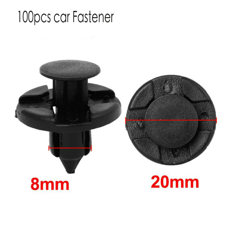 20Pcs Auto Car Nylon Fastener Clips For Nissan Titan Juke GTR Maxima Armada Cube Xterra G35 FX35 Push Rivet Screw Clip
