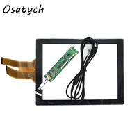 New 12 1 Projected Capacitive Touch Screen Panel 10 Points USB Controller Win 7 8 USB