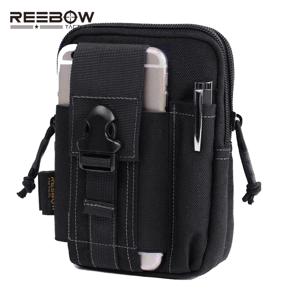 Outdoor Tactical Molle Waist Pack Bags Sport Pouch Purse Phone Case Iphone 6 Plus SAMSUNG Note 2 3 4 CORDURA Fabric - REEBOW GEAR store