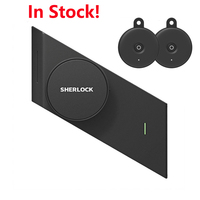 Sherlock S2 Smart Door Lock And Two Keys Home Keyless Lock Easy Installation Electronic Door Lock Wireless App Bluetooth Control