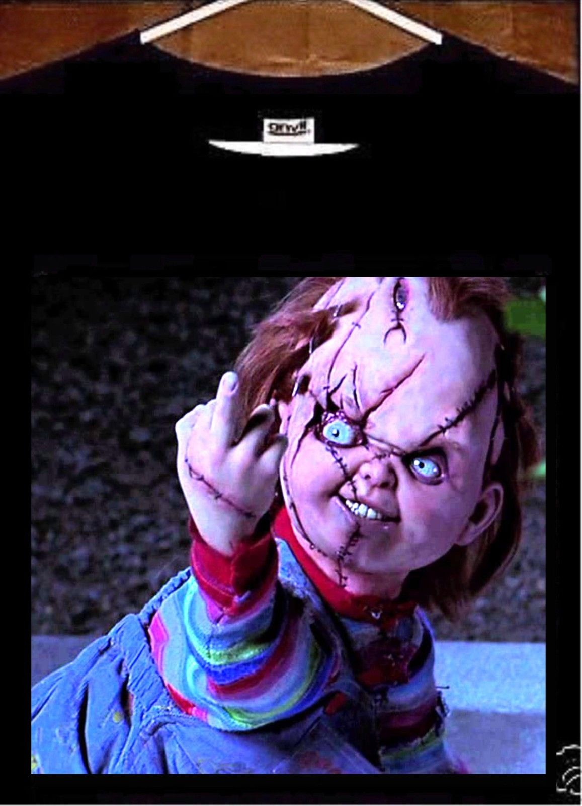 US $11 69 10% OFF|2019 Male Best Selling Chucky T Shirt