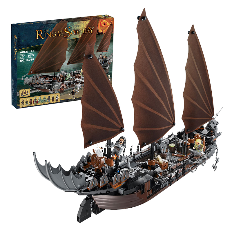 Lepin 16018 Pirate Ship Ambush building bricks blocks Toys for children boys Game Model Gift Compatible with Bela Decool 79008 susengo pirate model toy pirate ship 857pcs building block large vessels figures kids children gift compatible with lepin