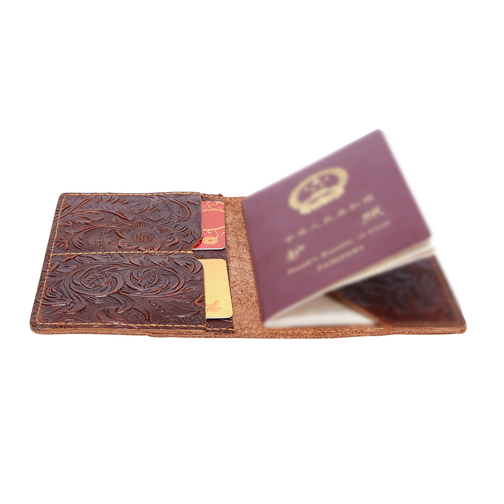K018-Women Passport Cover Purse-Brown-05(11)088