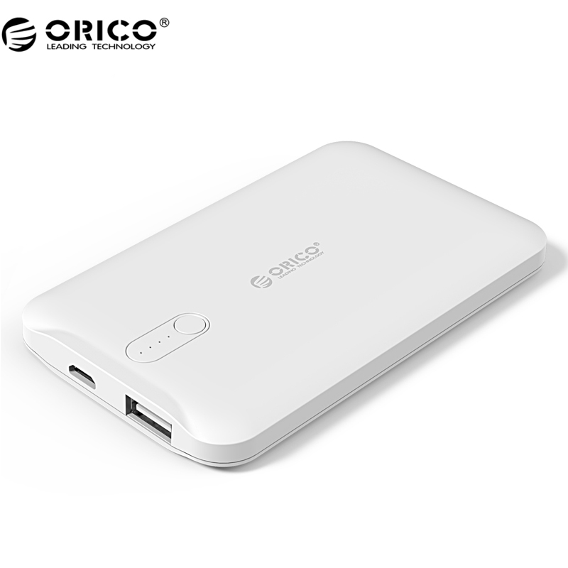 ORICO D2500 Power Bank 2500mAh Scharge Polymer Power Bank Power Battery External Universal Charger for Cellphone