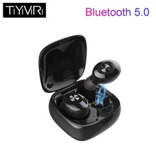 TiYiViRi TWS Bluetooth 5.0 XG12 Wireless Earphone 5D Stereo Earbu HIFI Sound Headphone Sport Handsfree Gaming