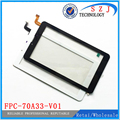 New 7'' inch Touch Screen Touch Panel Tablet PC digitizer FPC-70A33-V01Glass Sensor Replacement Free Shipping