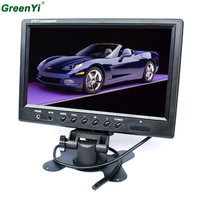 9 Inch Color TFT LCD Display DC 12V Car Rear View Headrest Monitor For DVD Reversing