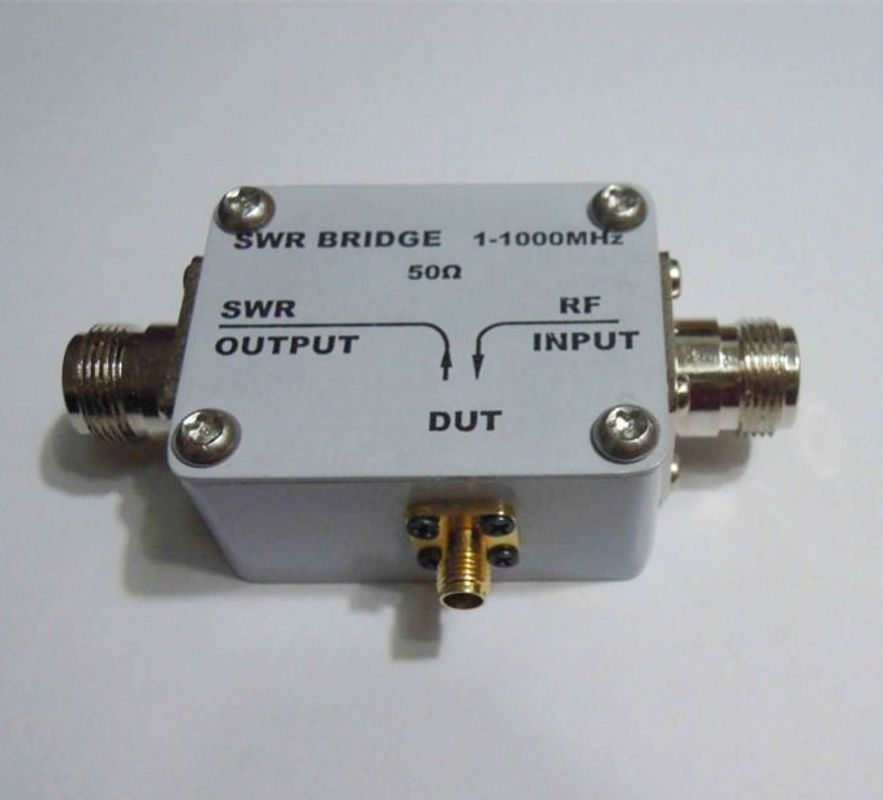 1MHz-1000MHz 1Ghz 50 VSWR Reflection Bridge SWR Bridge RF Directional Bridge reflection spectroscopy opening pg202 15 50