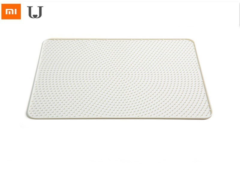 Xiaomi Pet Silicone Sand Pad Cat Litter Mat Cat Litter Trapper Mats Waterproof Bottom Layer Easy Cleaning Litter Mats Smart Home