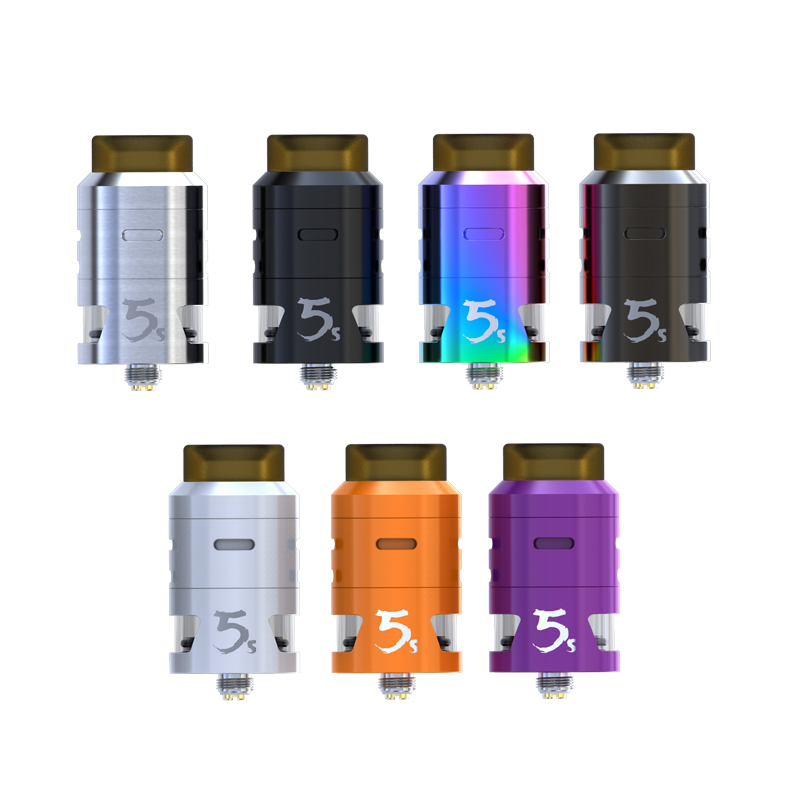 original IJOY RDTA 5S Tank 2 6ml vapor flavor atomizer e cigarette for joyetech cuboid OR