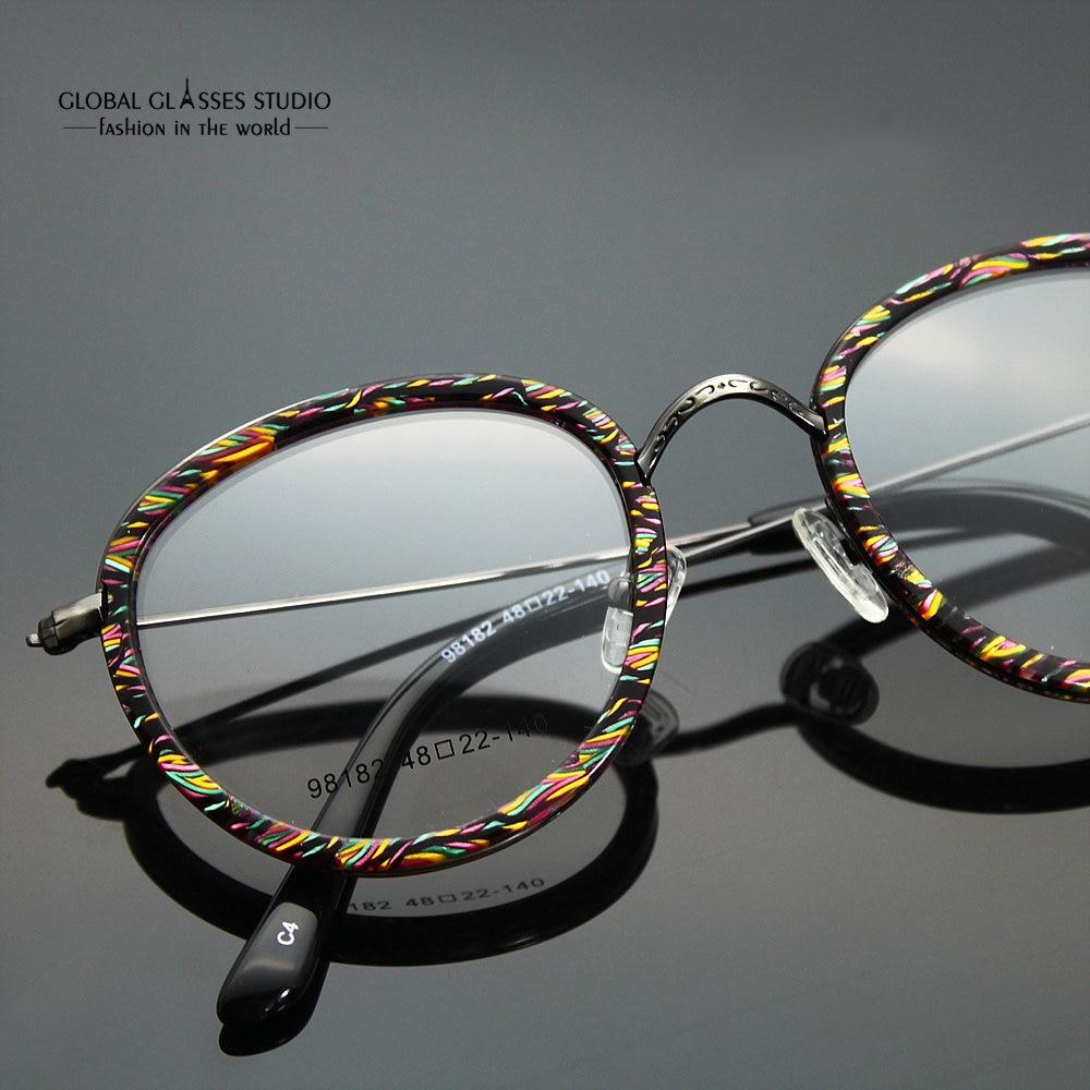 bb8223b184b Free Shipping Eyeglass Frames Vintage Women Designer Eyewear Frame Optical  Eye Glasses Frame can match phototropic lenses 98104