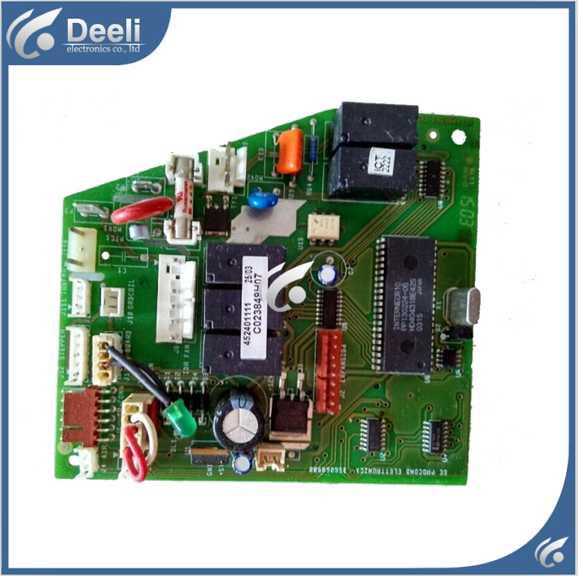 цена на 95% new Original for air conditioning computer board business unit PC board C023849H07 452401111