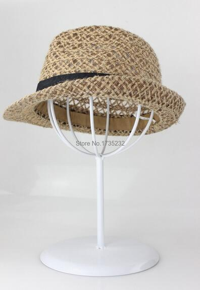 Black Metal wig display stand cremalheira de exposição chapéu chapéu cap chapéu de exibição titular rack de titular da arte do ferro