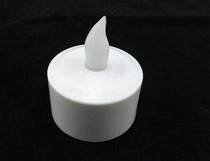 Image 3 - 12 teile/satz Fernsteuerungs Wiederaufladbare Teelicht Led kerzen matt Flammenlose Teelicht multi farbwechsel kerzenlampe Party