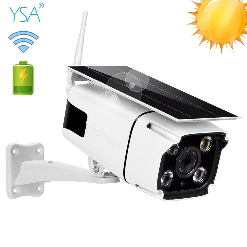 2MP 1080P Câmera IP Impermeável Ao Ar Livre Sem Fio Wi-fi Câmera de Segurança Solar Movido A Energia Solar de Detecção de Movimento IR Night Vision Cam