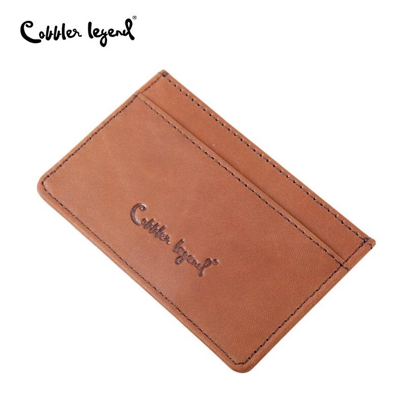 Aliexpress.com : Buy Genuine Leather Business Card Holder