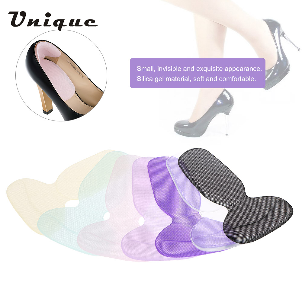 Gel High Heel Liner Grip Back Shoe Insole Pad Foot Protector Cushion Pairs