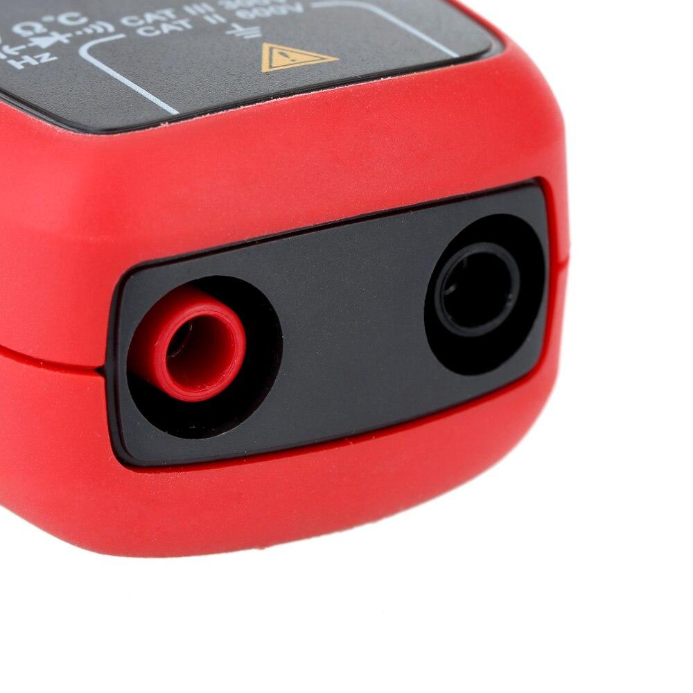UNI T UT210D Mini Digital Clamp Multimeter 200A Auto Range AC/DC Voltmeter Amperemeter Widerstand Kapazität C/F Temperatur tester - 4