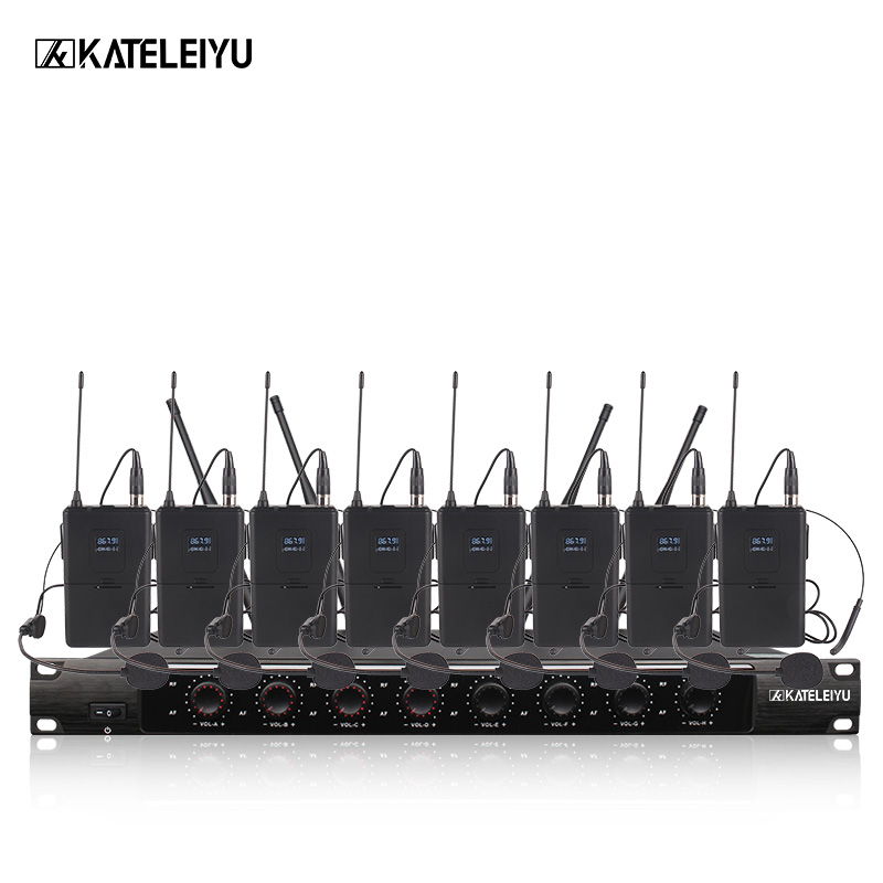 System 8600C Professional Wireless Microphone 8 Channel Professional VHF 8 Stage Karaoke Microphone Handheld Wireless Microphone professional karaoke wireless microphone system 2 channel receiver cordless handheld microphones for dj mixer audio stage church