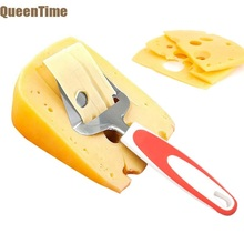 Queentime Stainless Steel Cheese Slicer Butter Slicing Grater Dough Cutter Bread Cake Pizza Serving Spatula Kitchen Gadgets