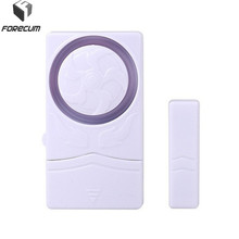 FORECUM Wireless Window Door Magnet Sensor Detector 110dB Door Entry Anti Theif Alarm For Wireless Home Security Alarm System