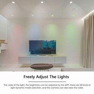 Image 5 - مصباح ذكي النازل لمبة led بلوتوث ماجيك RGBW إضاءة المنزل مصباح تغيير لون عكس الضوء 100 264VAC تنطبق على IOS/أندرويد