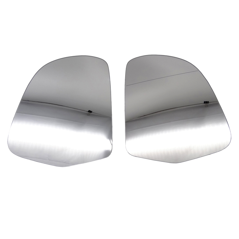 Right Hand Drivers Side Audi A6 C6 2008-2012 Wide Angle Wing Door Mirror Glass