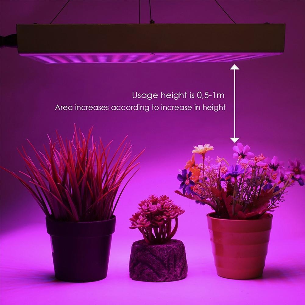 LumiParty 45W 225 LEDs AC85~265V LED Plant Grow Spotlight Light Square Shape Lamp Bulb for Flower Plants jk35 novelty flower bird embellished square shape pillowcase