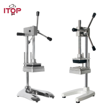 все цены на ITOP Manual Vertical Potato Chip Machine,French Fries Cutter Potato Carrot Shredding Machine Vegetable Fruit Slicer Tools онлайн
