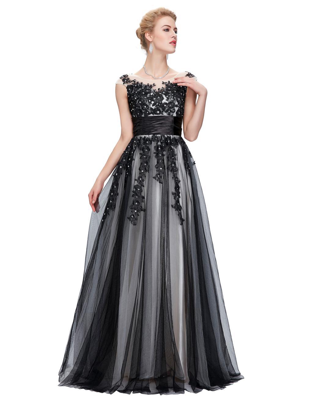 Elegant Lace Appliques Mother of the Bride Dress 4