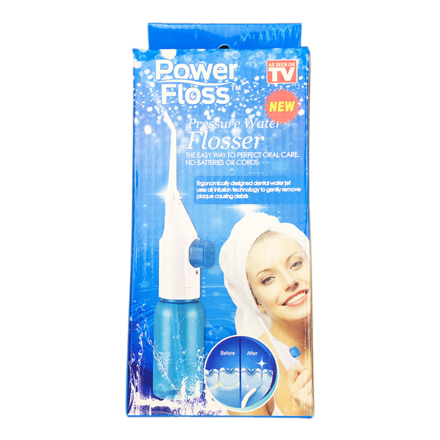 Dental Oral Irrigator Portable Water Flosser For Teeth With Nasal Irrigators Water Teeth Mouth Clean Oral Jet Nasal  Cleaner