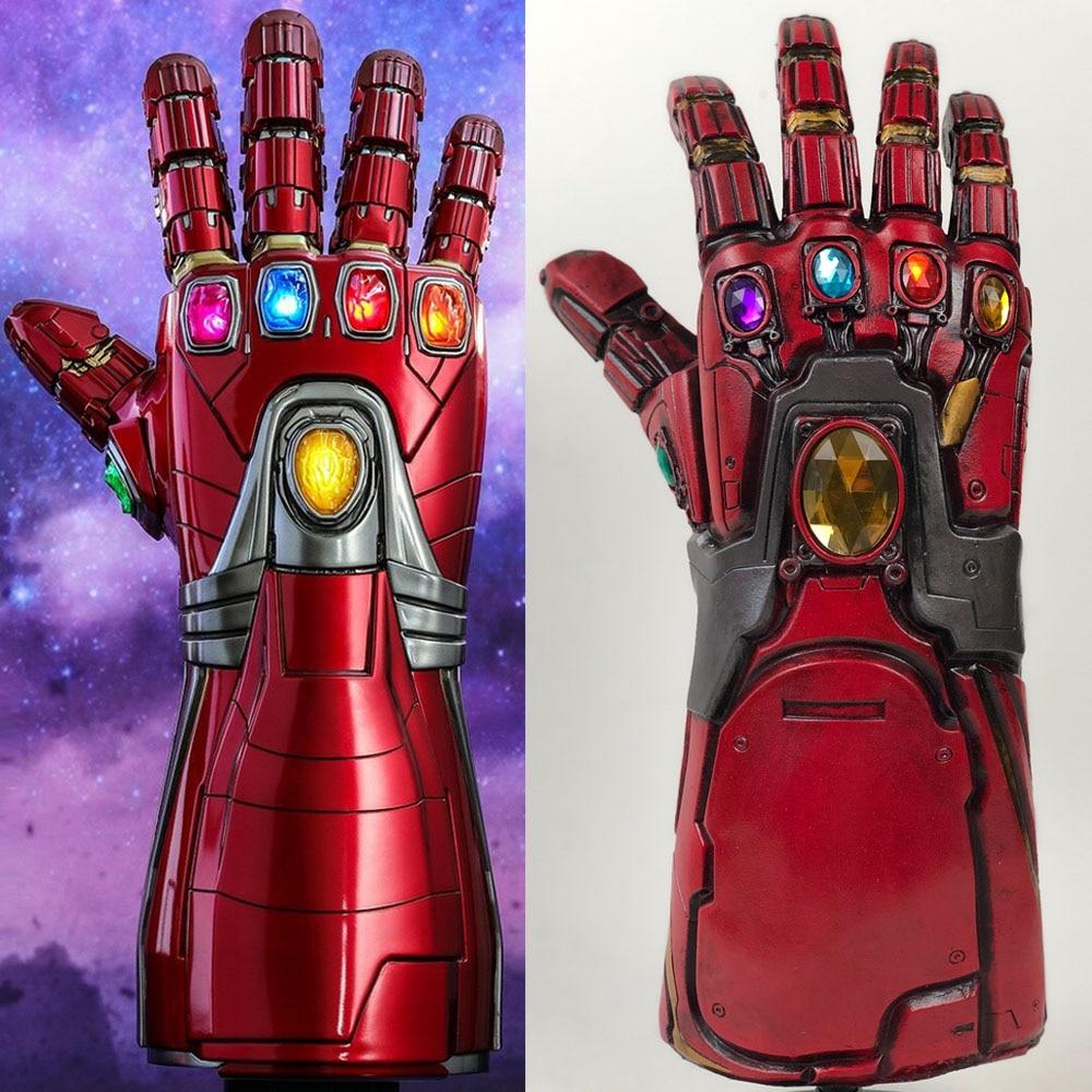 Avengers Endgame Infinity Gauntlet Cosplay Iron Man Tony Stark Gloves Costume tm