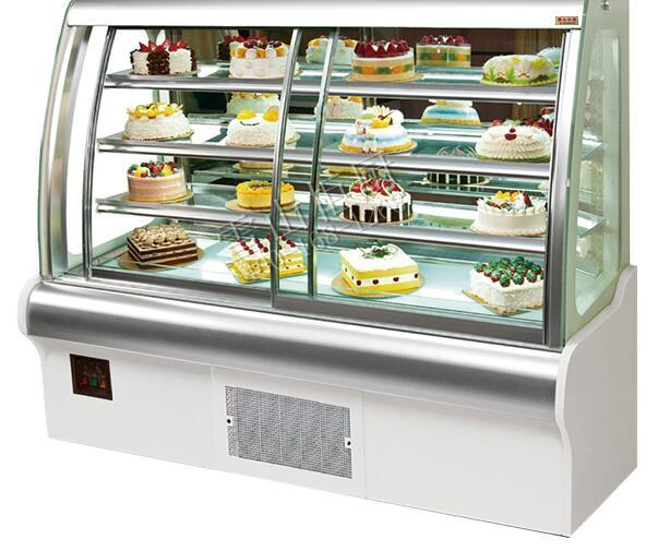 Fob Price Refrigerated Bakery Showcase Display Bread And