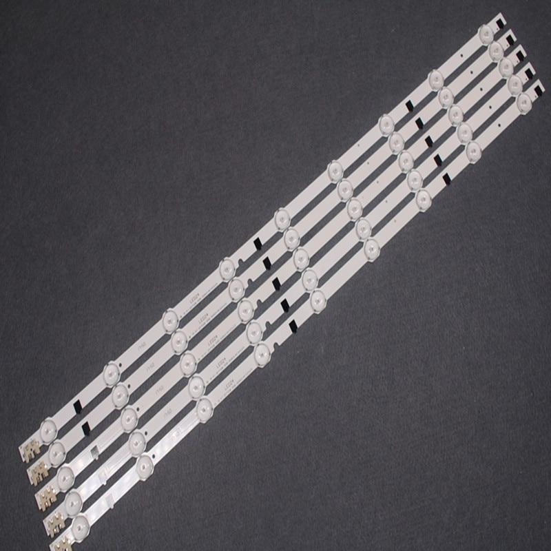 For UA32F4088AR CY-HF320AGEV3H UE32F5000 LED Strip D2GE-320SC0-R3 2013SVS32H 9 REV1.8 5 Pieces/lot 9 LED 650mm D2GE-320SCO-R3