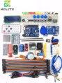 HAILANGNIAO UNO R3 набор обновленная версия набора для стартера Набор для обучения RFID шаговый двигатель + ULN2003 Лучшие цены