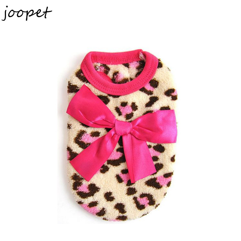free shipping cheap small cat clothing soft fleece clothes for cats winter leopard clothing for. Black Bedroom Furniture Sets. Home Design Ideas