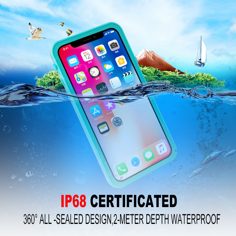 for iPhone X waterproof case (4)